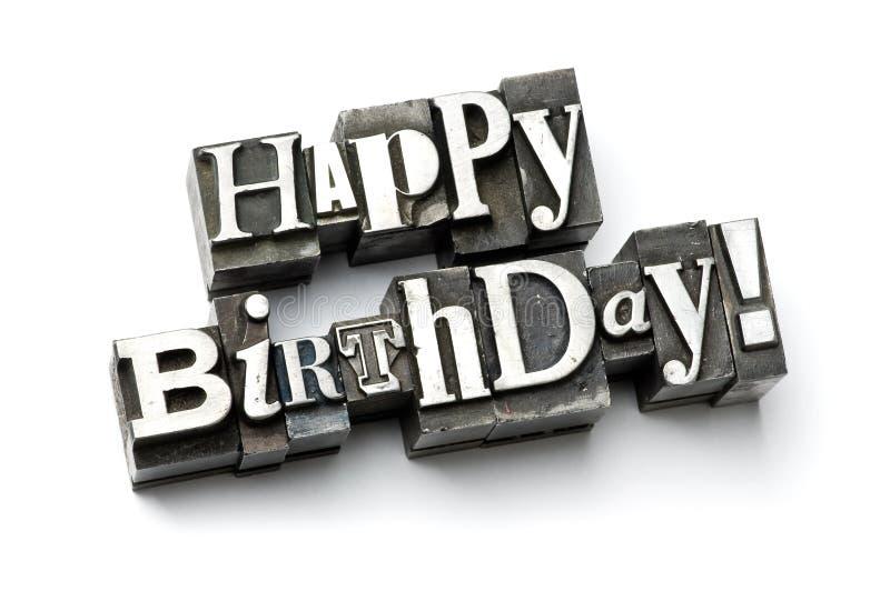 Alles Gute zum Geburtstag! stockbild