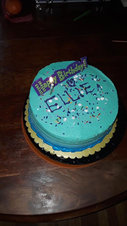 Alles Gute zum Geburtstag Ellie stockfoto