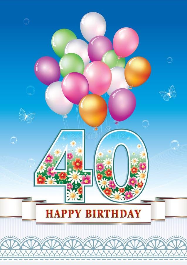 Alles Gute Zum 40 Geburtstag