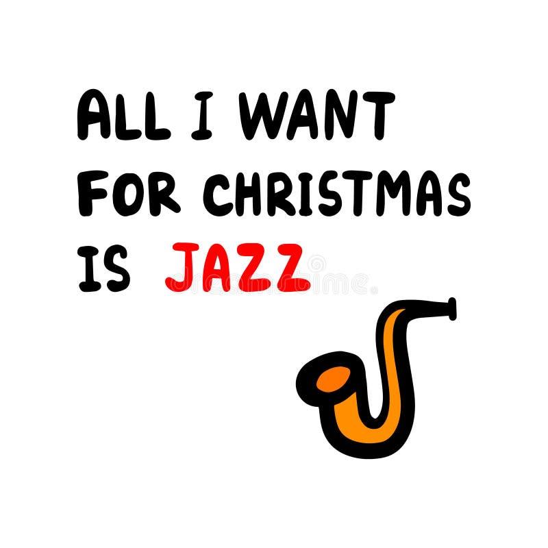 jazz katze weihnachten stock abbildung illustration von. Black Bedroom Furniture Sets. Home Design Ideas