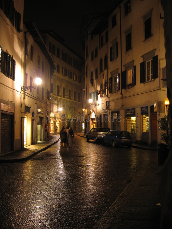 Alley In Florence Royalty Free Stock Images