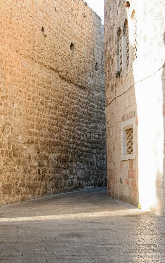 Download Alley in Jerusalem stock photo. Image of spiritual, journey - 521500