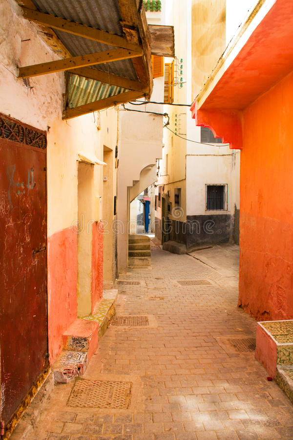 Alley in Morocco royalty free stock photos
