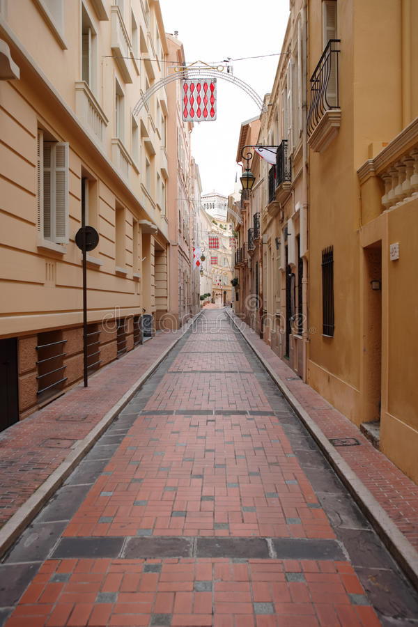 Download Alley with red cobblestone stock photo. Image of nobody - 11566270