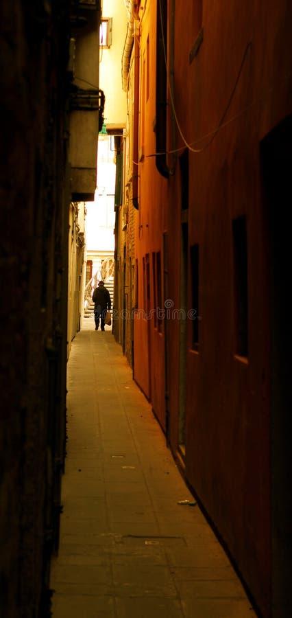 alley venice στοκ εικόνες με δικαίωμα ελεύθερης χρήσης