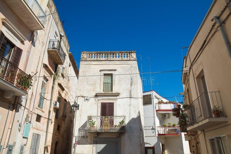Alleyway. Acquaviva delle fonti. Puglia. Italy. Alleyway of Acquaviva delle fonti. Puglia. Italy royalty free stock photos