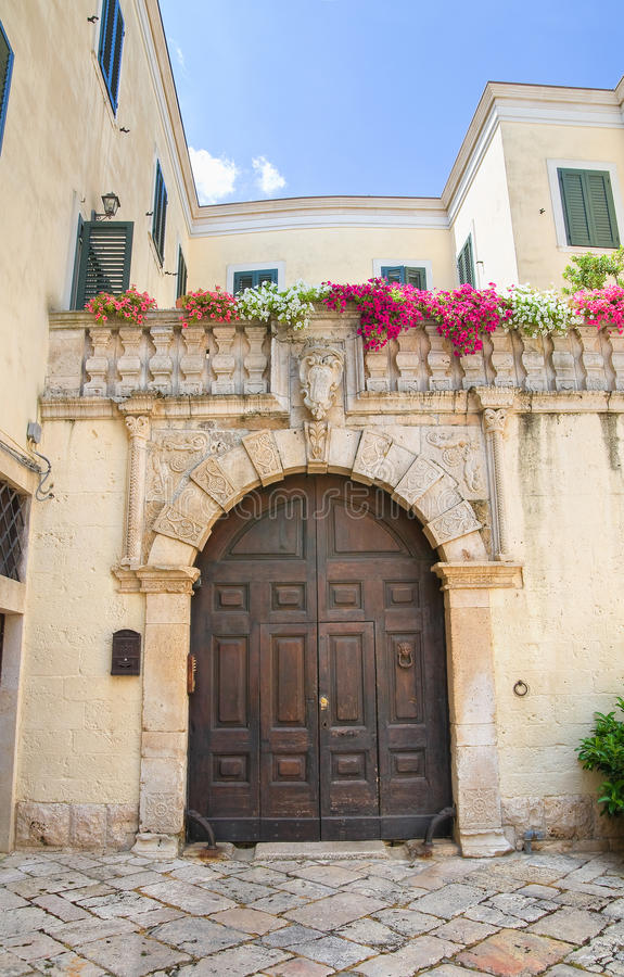 Alleyway. Altamura. Puglia. Italy. Alleyway of Altamura. Puglia. Italy royalty free stock photos