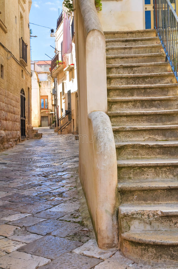 Alleyway. Altamura. Puglia. Italy. Alleyway of Altamura. Puglia. Italy stock image