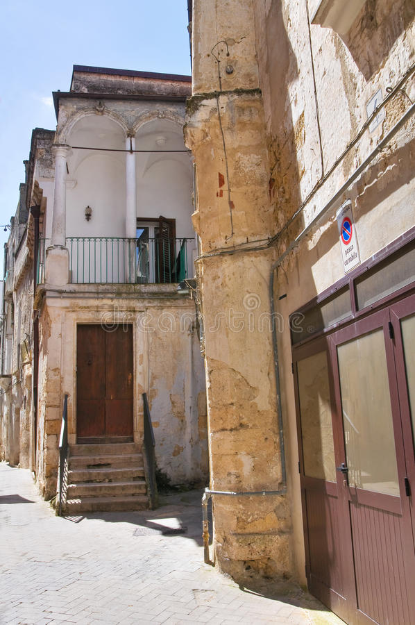 Alleyway. Altamura. Puglia. Italy. Alleyway of Altamura. Puglia. Italy stock photos