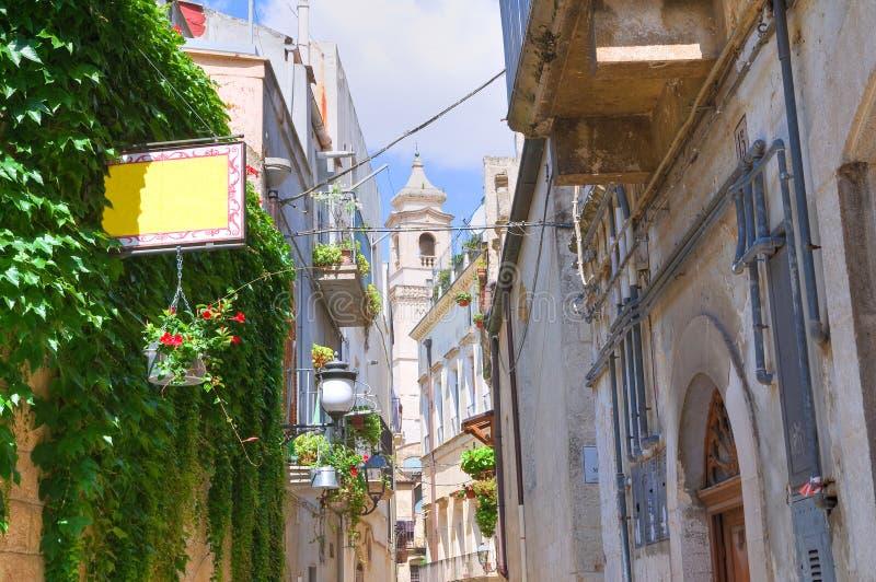 Alleyway. Altamura. Puglia. Italy. Alleyway of Altamura. Puglia. Italy royalty free stock images