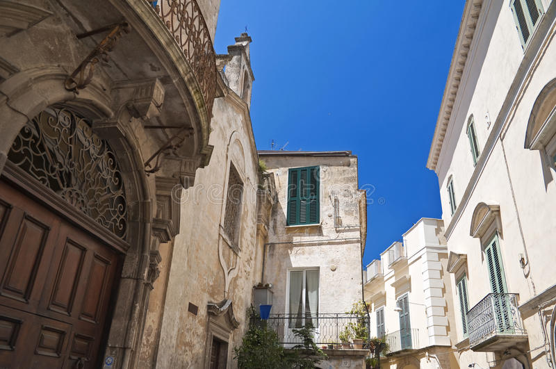 Alleyway. Altamura. Puglia. Italy. Image of Altamura alleyway. Apulia royalty free stock image