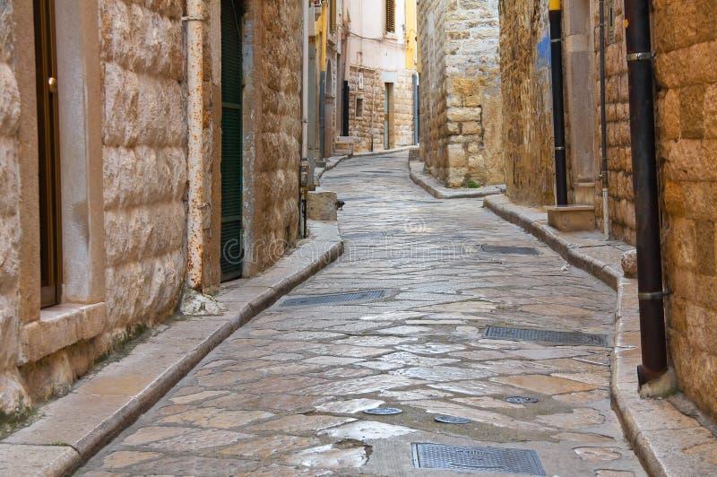 alleyway andria Puglia Italy fotografia de stock royalty free