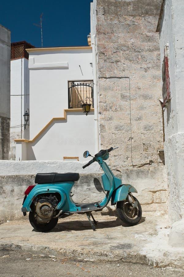 alleyway Castellaneta Puglia Italy fotografia de stock royalty free