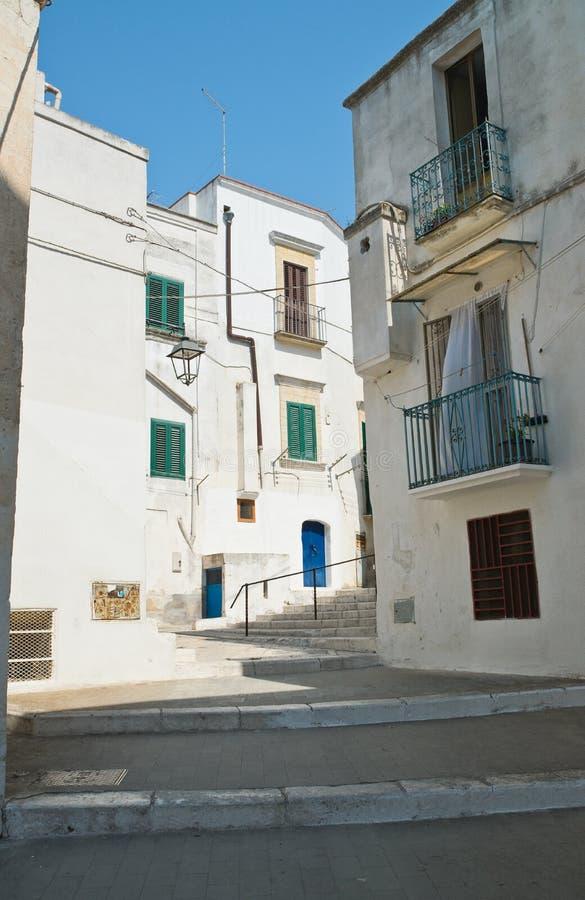 Alleyway. Castellaneta. Puglia. Italy. Alleyway of Castellaneta. Puglia. Italy stock photos