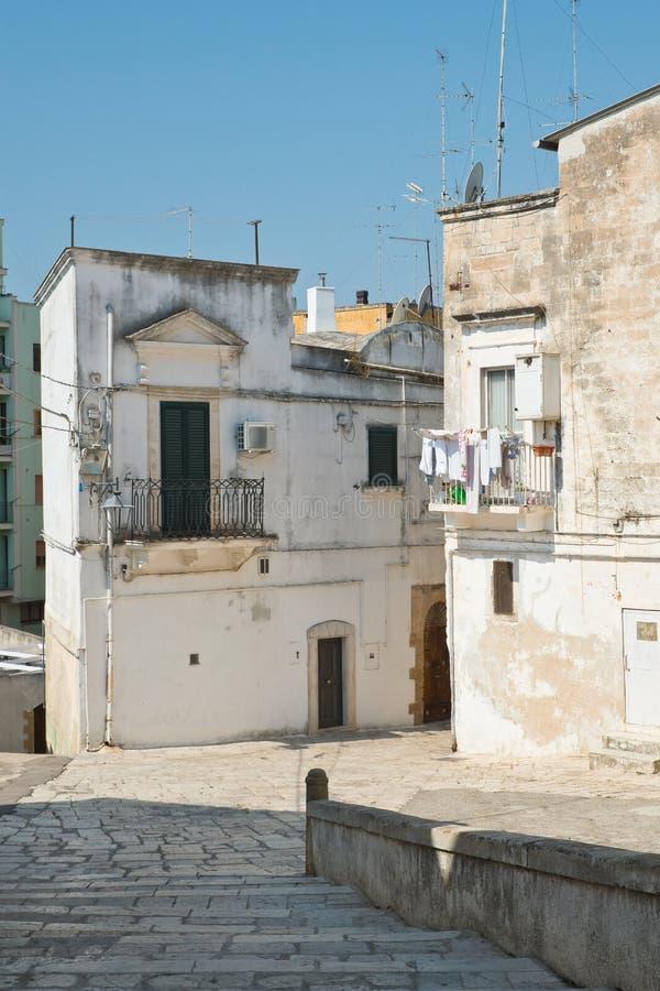 alleyway Castellaneta Puglia Italy foto de stock royalty free