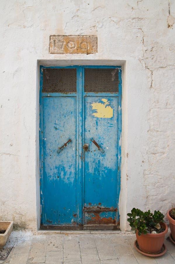 alleyway Castellaneta Puglia Italy imagens de stock royalty free