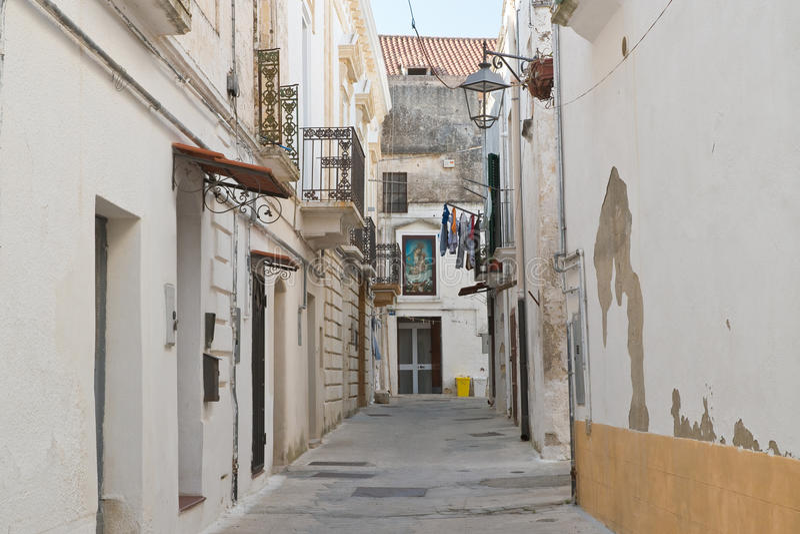 alleyway Castellaneta Puglia Italy fotos de stock royalty free