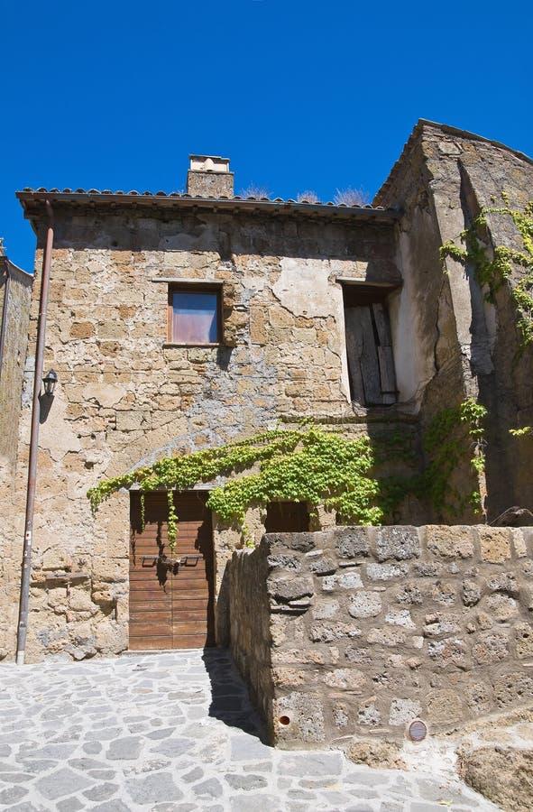 Download Alleyway. Civita Di Bagnoregio. Lazio. Italy. Stock Image - Image: 26263531