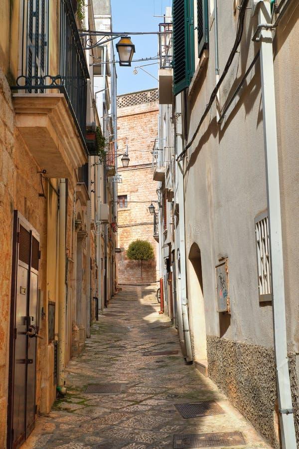 alleyway Conversano Puglia Italy fotos de stock royalty free