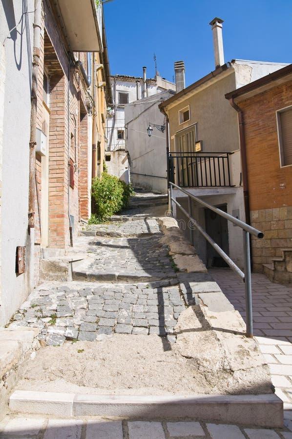 Alleyway. Deliceto. Puglia. Italy. Alleyway of Deliceto. Puglia. Italy royalty free stock photography