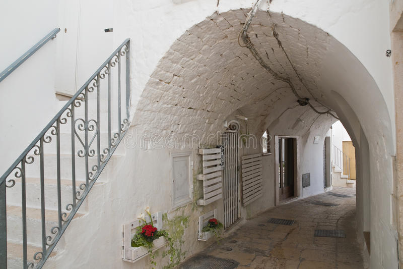 alleyway E Puglia Italy fotos de stock royalty free
