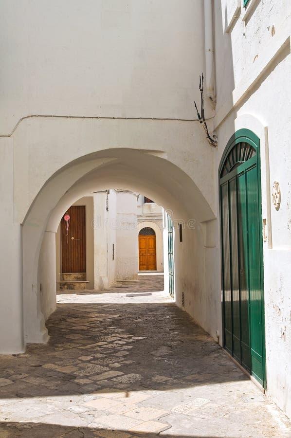 alleyway Fasano Puglia Italy fotografia de stock royalty free
