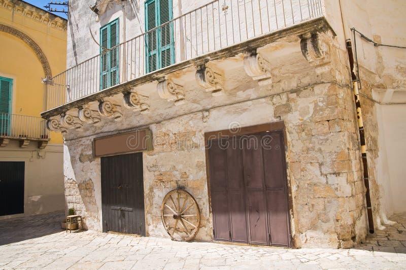 alleyway Fasano Puglia Italy fotos de stock