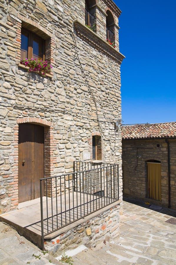alleyway Guardia Perticara Basilicata Italy fotografia de stock royalty free