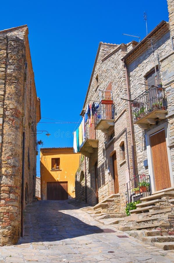 alleyway Guardia Perticara Basilicata Italy imagens de stock royalty free