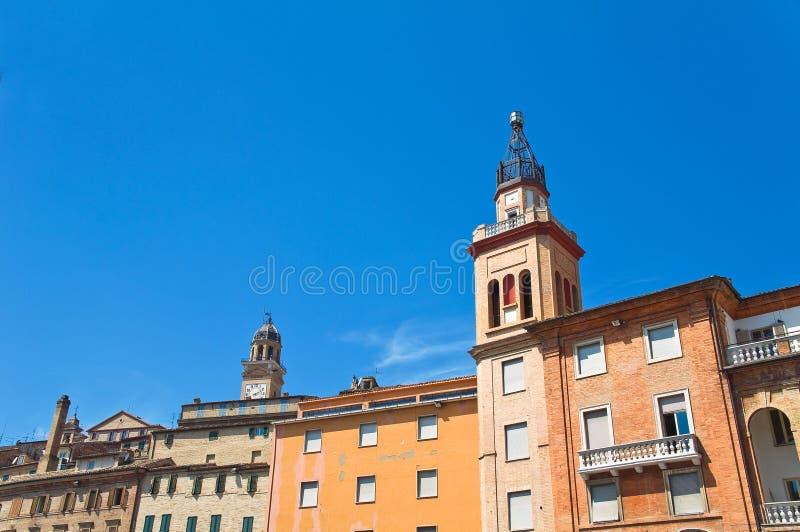 alleyway Macerata Marche Italy fotografia de stock royalty free