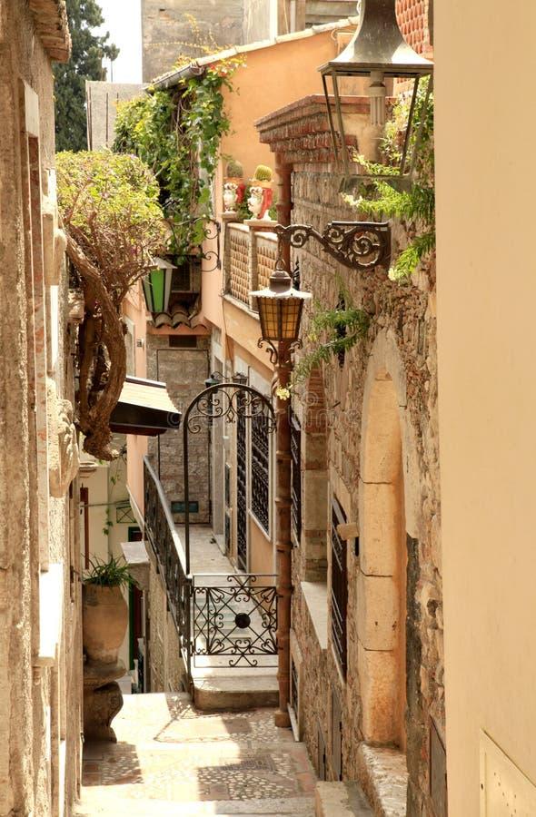 alleyway miasta grek zdjęcia stock