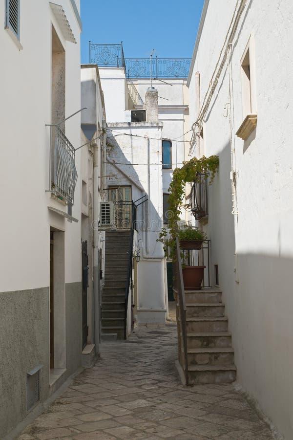 Alleyway. Mottola. Puglia. Italy. Alleyway of Mottola. Puglia. Italy royalty free stock images