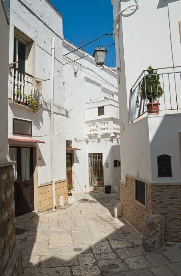 Alleyway. Mottola. Puglia. Italy. Alleyway of Mottola. Puglia. Italy stock photo