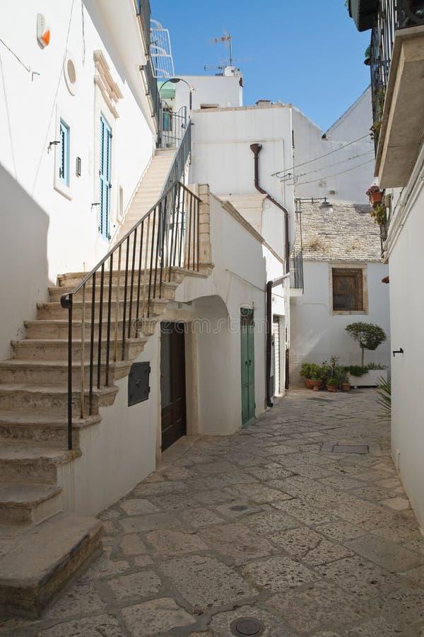 Alleyway. Noci. Puglia. Italy. Alleyway of Noci. Puglia. Italy stock image
