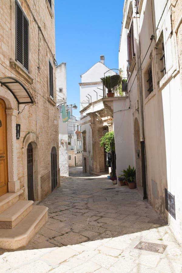 Alleyway. Noci. Puglia. Italy. Alleyway of Noci. Puglia. Italy stock images