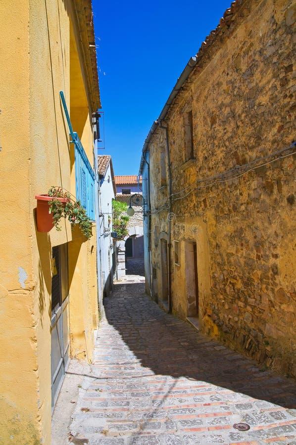 alleyway Pietragalla Basilicata Italië royalty-vrije stock foto's