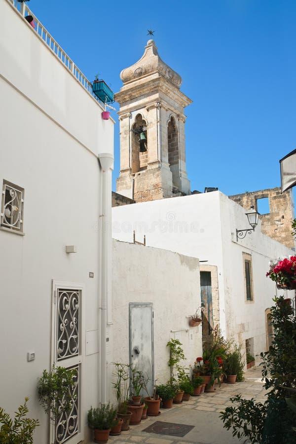 alleyway Polignano uma égua Puglia Italy fotos de stock royalty free