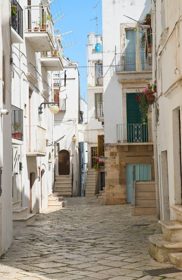 alleyway Putignano Puglia Italy fotos de stock royalty free