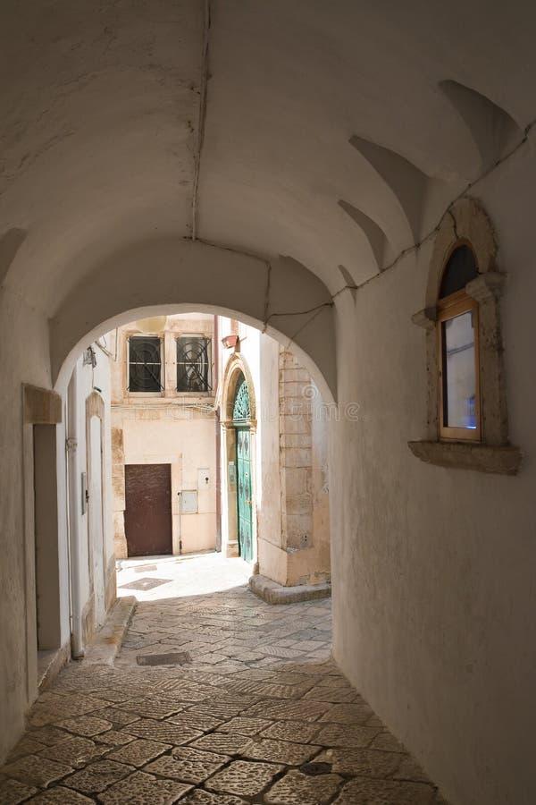 alleyway Putignano Puglia Italy fotografia de stock royalty free