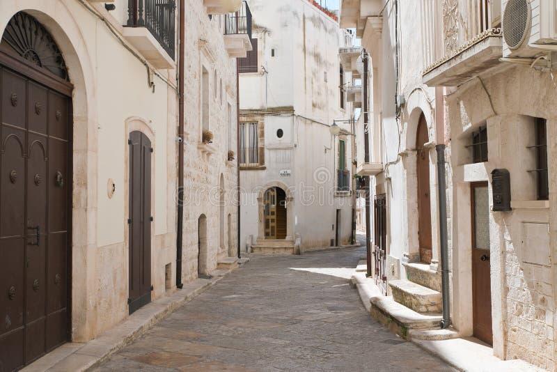 alleyway Putignano Puglia Italy imagens de stock royalty free