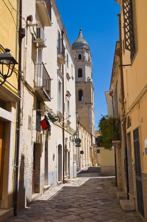 alleyway San Severo La Puglia L'Italia immagini stock libere da diritti