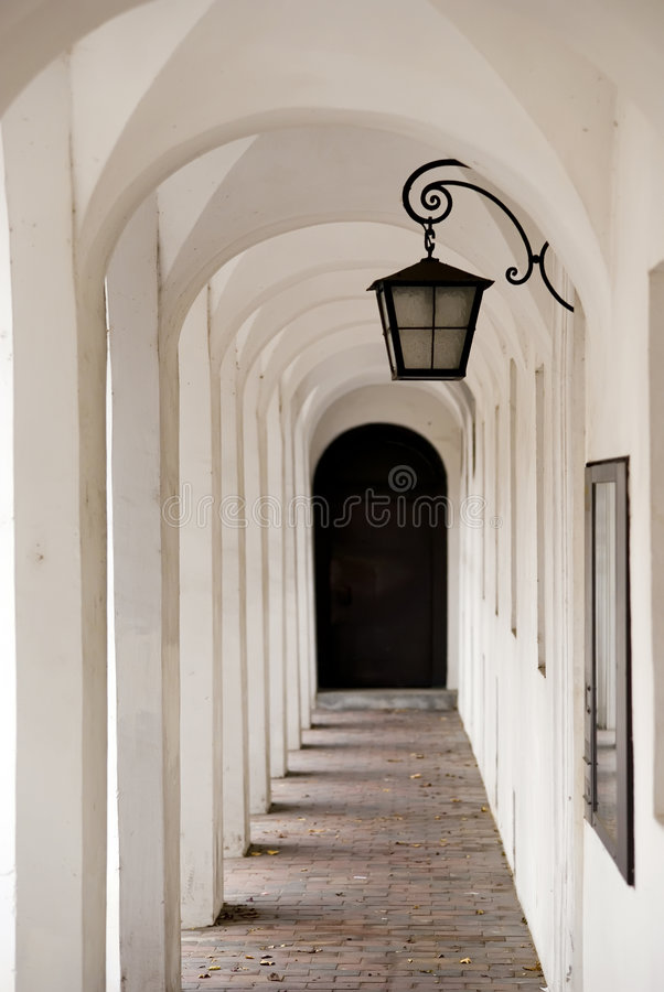 Free Alleyway With Latern Stock Photo - 6939760