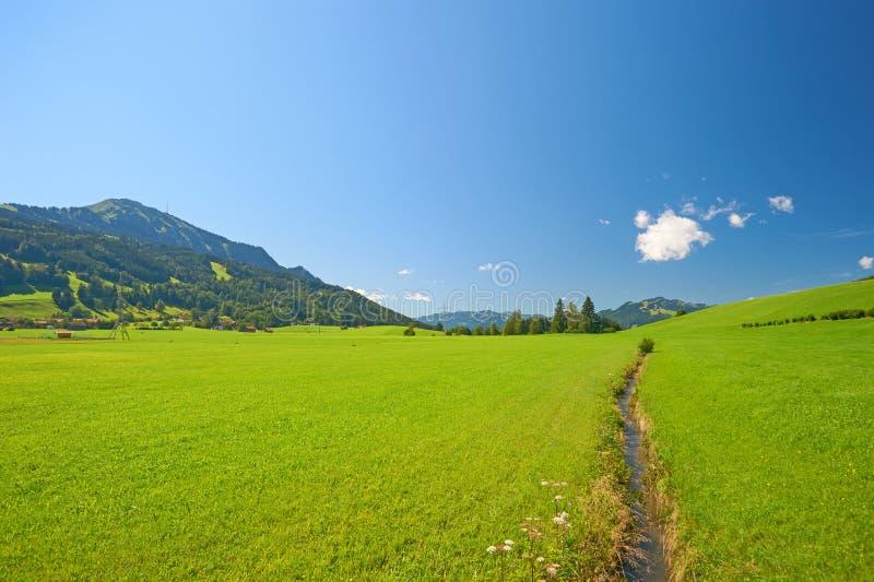 Allgäu, Southern Germany. The Allgäu, a region in Swabia, Southern Germany stock photo