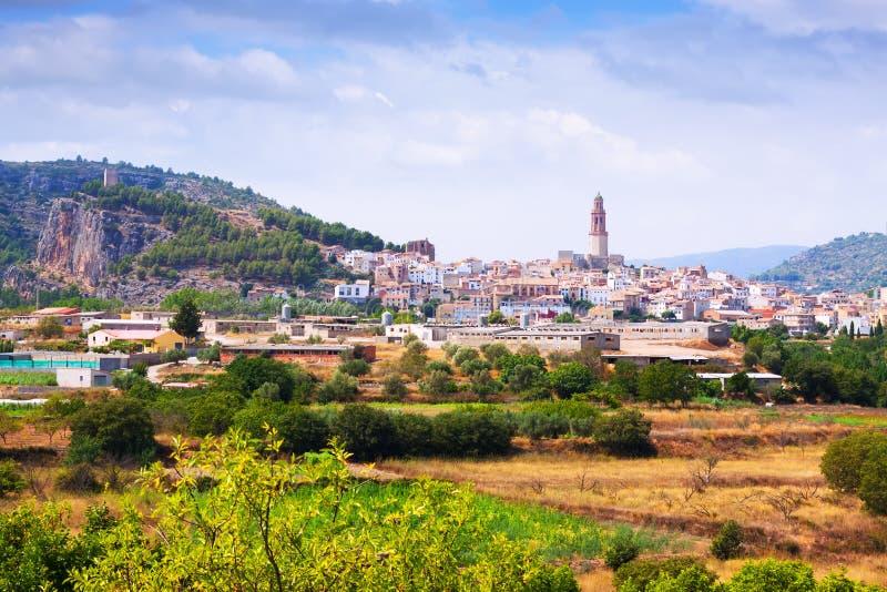 Allgemeine Ansicht Von Jerica. Valencian Gemeinschaft Stockfotografie