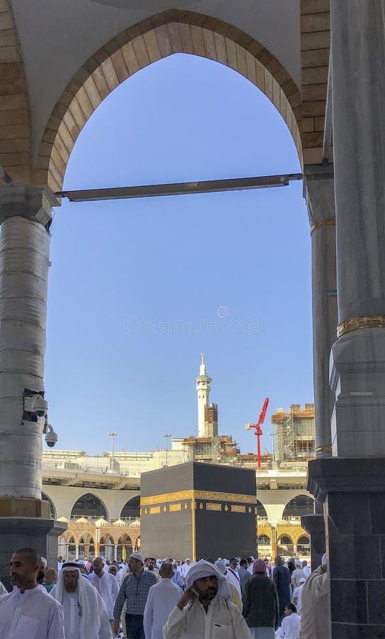 Allgemeine Ansicht von Kaabah stockfoto