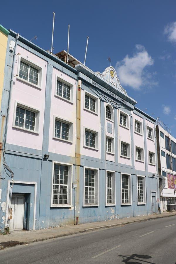 Allgemeine Arbeitskräfte kooperativ in Bridgetown lizenzfreie stockfotos
