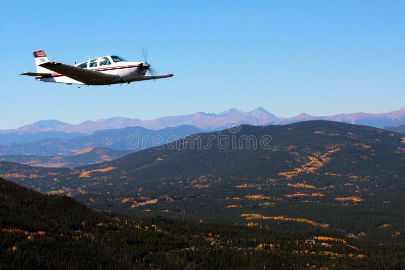 Allgemeine Luftfahrt - Beechcraft-Goldgrube stockbild