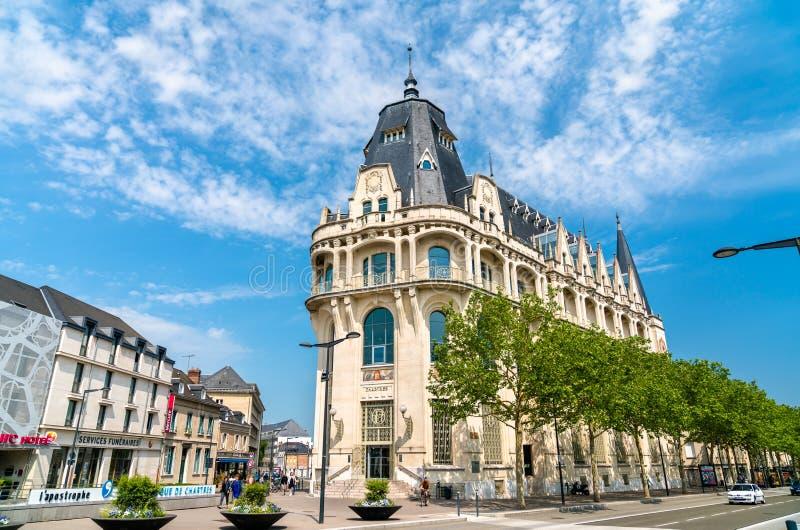 Allgemeine Multimediabibliothek in Chartres, Frankreich lizenzfreies stockbild