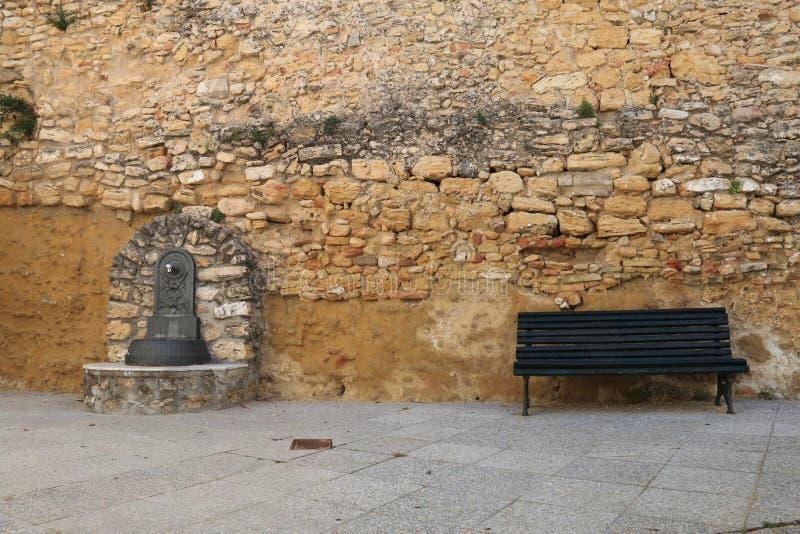 Allgemeine Quelle in der Stadt von Medina Sidonia, Spanien lizenzfreie stockfotografie