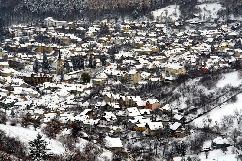 Allgemeine Stadt-Ansicht stockbilder
